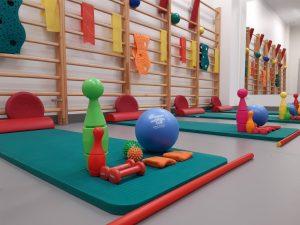 Sala ćwiczeń dla dzieci - WOMP-ZCLiP przy ul.Kopernika 18 (Rehabilitacja)
