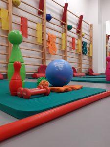 Sala ćwiczeń dla dzieci - WOMP-ZCLiP przy ul.Kopernika 18